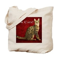 Show Cats Cover Tote Bag