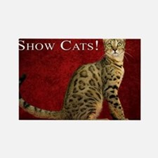Show Cats Cover Rectangle Magnet