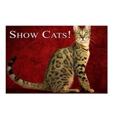 Show Cats Cover Postcards (Package of 8)