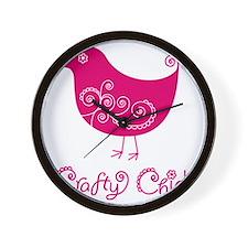 craftychickpink Wall Clock