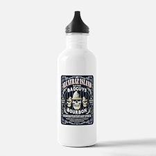 BAD_GUYS_BOURBON Water Bottle