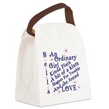 Bella Ordinary Canvas Lunch Bag