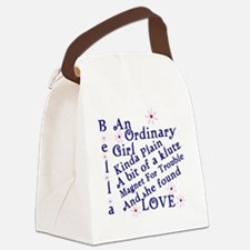 Bella Ordinary Canvas Lunch Bag