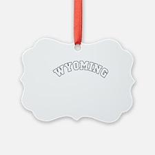wyoming white Ornament