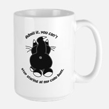 Admit It Cat Butt (Bev) Mugs
