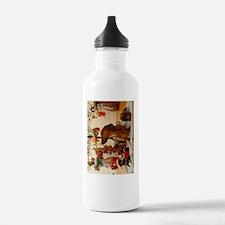 ChristmasDoxie2Journal Water Bottle