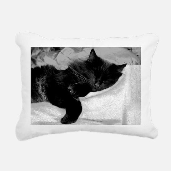 card lazy day Rectangular Canvas Pillow