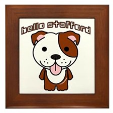Hello Stafford3 Framed Tile