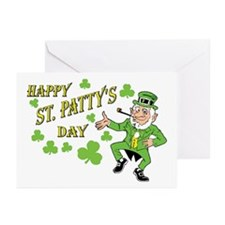 Happy St Patty's Day Greeting Cards (Pk of 10)