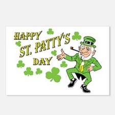 Happy St Patty's Day Postcards (Package of 8)