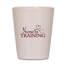 Nurse in Training Shot Glass
