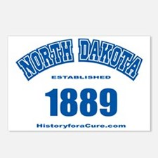north dakota Postcards (Package of 8)