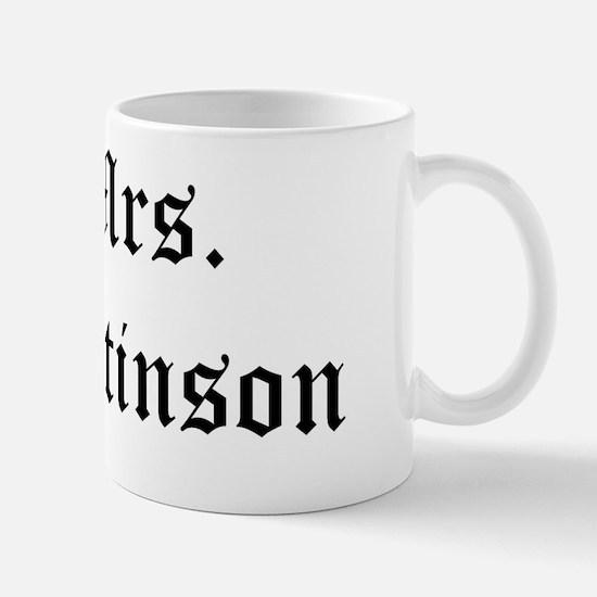 mrs pattinson Mug