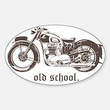 triumph 500 Sticker (Oval)