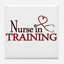 Nurse in Training Tile Coaster