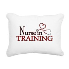 Nurse in Training Rectangular Canvas Pillow