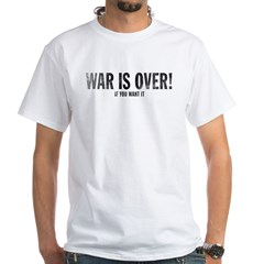 WAR IS OVER! Retro Peace 1-sided t - $10!
