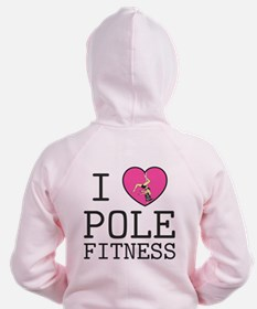 Cute Womens exercise Zip Hoodie