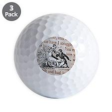 Mr Darcys Proposal, Jane Austen Golf Ball