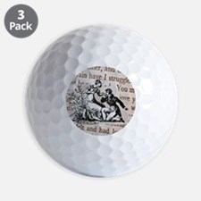 Mr Darcys Proposal, Jane Austen Golf Ball