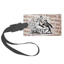 Mr Darcys Proposal, Jane Austen Luggage Tag