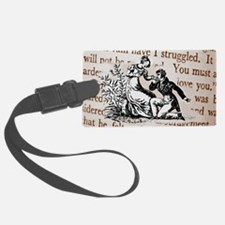 Mr Darcys Proposal, Jane Austen Luggage Tag
