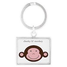 CheekyMonkey Landscape Keychain