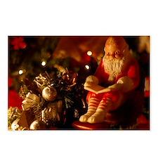 Santa Reading Postcards (Package of 8)