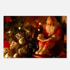 Santa Reading Postcards (Package of 8)