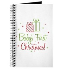 Baby's First Christmas Journal