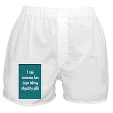 stupiditypills_journal1 Boxer Shorts