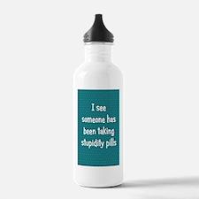 stupiditypills_journal Water Bottle