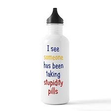 stupiditypills_iphone3 Water Bottle