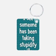 stupiditypills_iphone31 Keychains