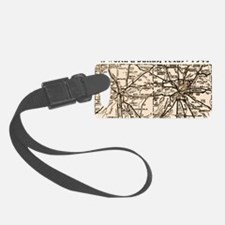 ftworth_dallas_1945_11x17 Luggage Tag