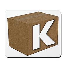 K_Box_2_white Mousepad