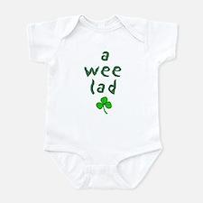 a wee lad Infant Bodysuit