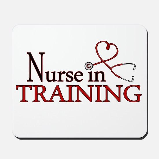 Nurse in Training Mousepad