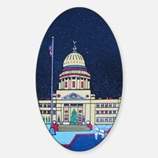 christmas at the capitol Decal