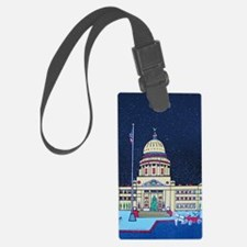 christmas at the capitol Luggage Tag