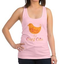 craftychickorgpink Racerback Tank Top