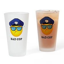 badcop Drinking Glass