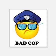 "badcop Square Sticker 3"" x 3"""