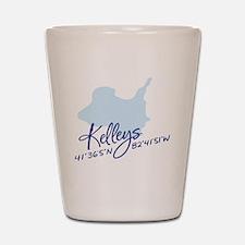 Kel An Is Rev Wi Drk Bl Let  Co 15.35 x Shot Glass