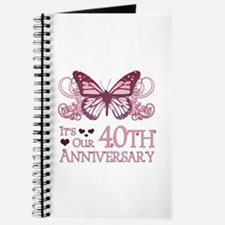 40th Wedding Aniversary (Butterfly) Journal