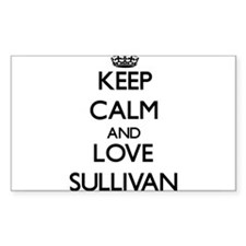 Keep Calm and Love Sullivan Decal