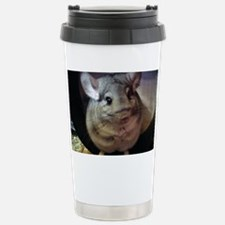 CJ on wheel - notecard Travel Mug