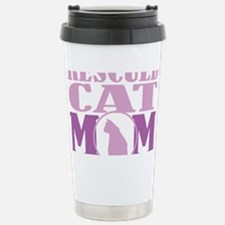 Rescued-Cat-Mom Stainless Steel Travel Mug