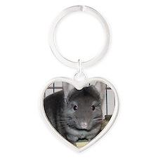 Coco - 3-5x3-5 - 200 Heart Keychain