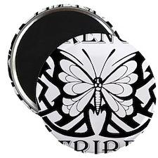 TribeButterfly1Black Magnet